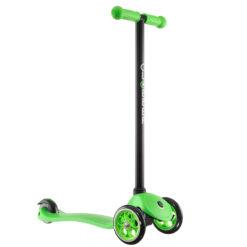 Тротинетка с две предни колела и с фиксирана височина - зелена