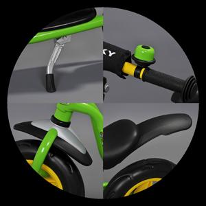 Калник, звънец и степенка на балансиращо колело
