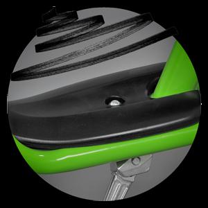 Широка платформа на балансиращо колело