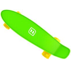Мини скейтборд за деца - зелен