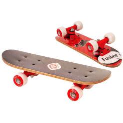 скейтборд червен