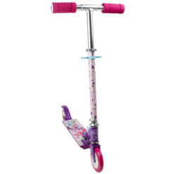 Розова тротинетка за момиче с две колела