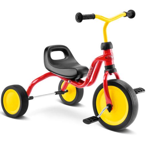Детска червена триколка колело с педали