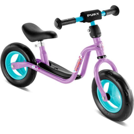 Лилаво колело за баланс от немската фирма Puky - Произведено в Германия