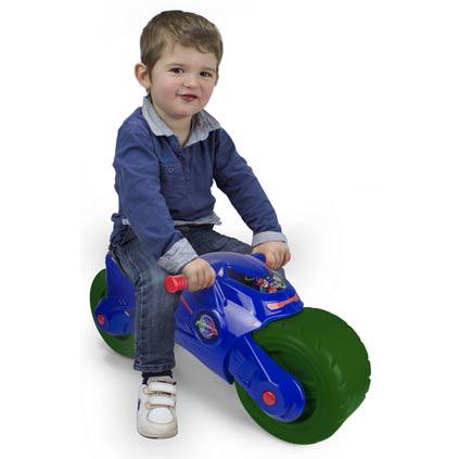 Пластмасова играчка - мотор с две колела за яздене