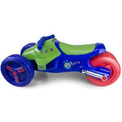 Пластмасов мотор с три колела за яздене от деца над 3 годишна възраст