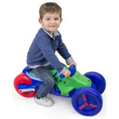 Пластмасова играчка - мотор за яздене