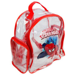 Детска каска и протектори в раница - Spiderman