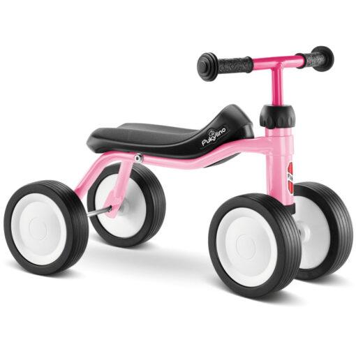 Розово колело четириколка за деца над 1 година