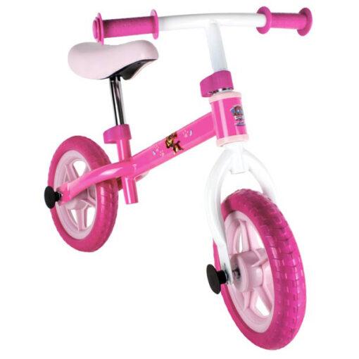 Розово колело за баланс без педали - Пес патрул