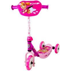 Розова тротинетка с три колела - Пес патрул