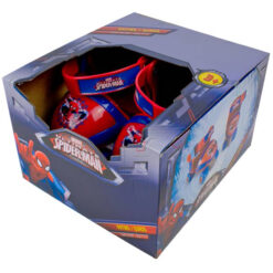 Кутия с ролкови кънки за деца Спайдърмен