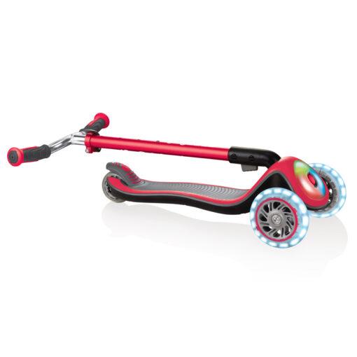 Тротинетка със светещи гуми, регулируема - Globber