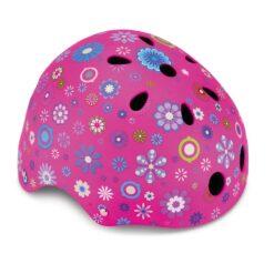 Каска за деца - Globber, розова с 11 вентилационни отвора