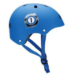 Предпазна синя каска за деца с прин