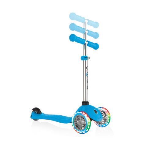 Скутер Globber със светещи колела - све