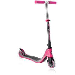 Розова тротинетка с две колела - Globb
