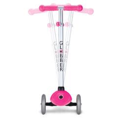Скутер Глобър - розов със светещи колела