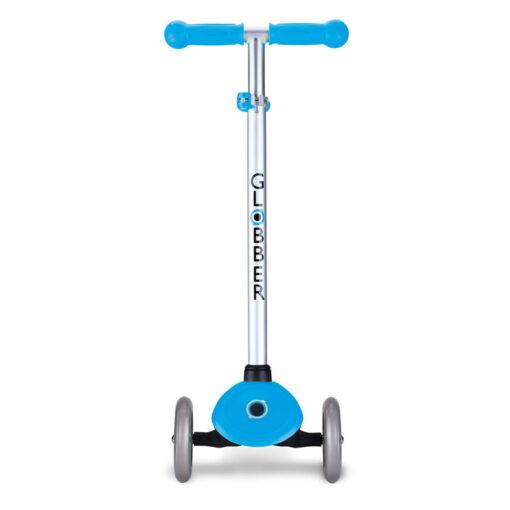 Скутер Глобър със светещи колела - светло син