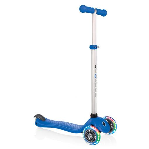 Триколка с родителски контрол - Globber - тъмно синя