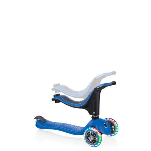 Тротинетка с родителски контрол и регулируема седалка