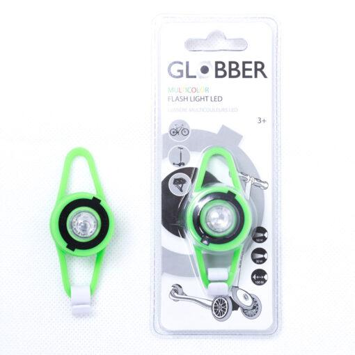 LED фенерче за тротинетка - зелено