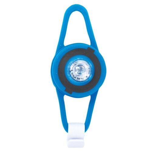 LED фенерче за тротинетка - синьо