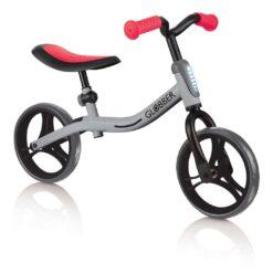 Колело за баланс за деца, колело без педали за деца на възраст над 2 години, сиво-червен цвят, GoBike, Globber
