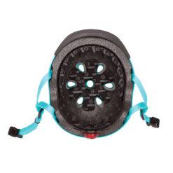 Защитна каска с LED светлина в задната си част
