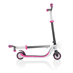 Сгъваема тротинетка с 2 колела – Globber Flow Foldable 125 – розово/бяло
