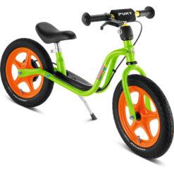 Баланс колело със спирачка - Puky - зелено