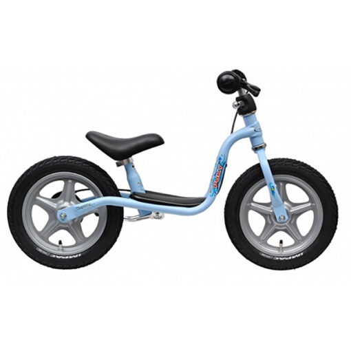 Балансиращо колело с ръчна спирачка - светло синьо