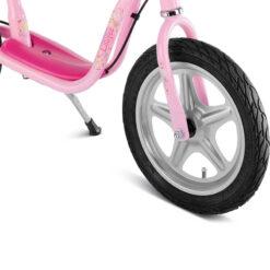 Колело за баланс с надуваеми гуми - за момиче