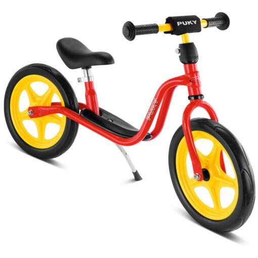Детско колело без педали за баланс - червено