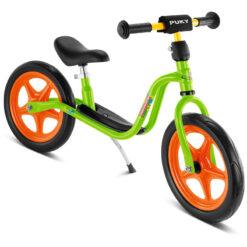 Детско колело без педали - зелено