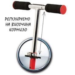 Тротинетка 2 в 1 - със ски и колела - Маккуин