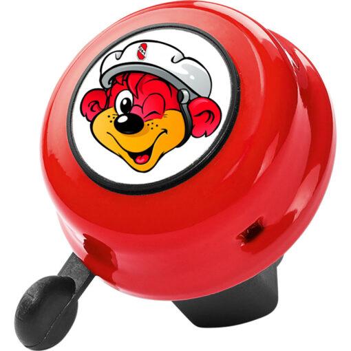 Велосипеден звънец - Puky - червен