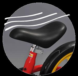 Ергонометрична седалка - Пуки