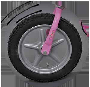 Помпащи се гуми - Puky