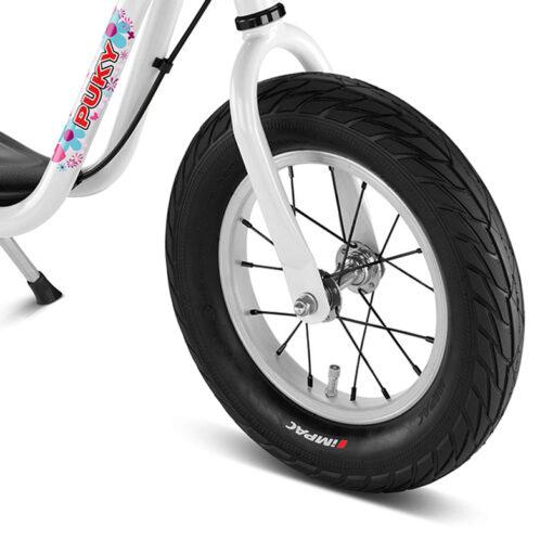 Бяло колело за баланс Puky LR XL