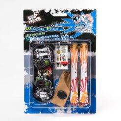 Играчки за пръсти - сноуборд и ски
