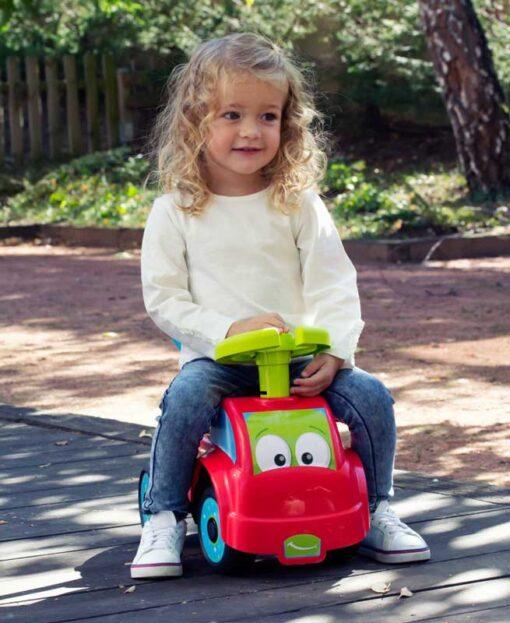 Детско камионче проходивка за яздене и бутане