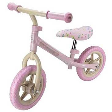 Колело без педали за баланс - бебешко розово
