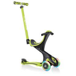 Скутер Globber 5 в 1 зелен със стабилизатор