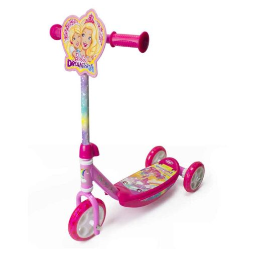 Тротинетка Барби розова за момиче -