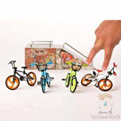 Играчка за пръсти - колело BMX - различни цветове