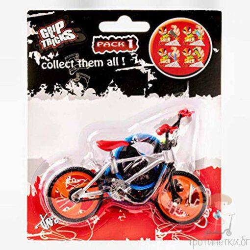 Играчка за пръсти велосипед BMX сив