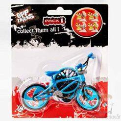 Мини колело за пръсти BMX - синьо