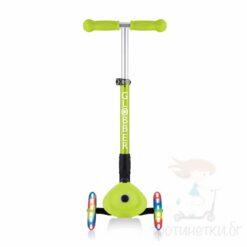 Сгъваема тротинетка за деца на 2 години - Globber Junior зелена