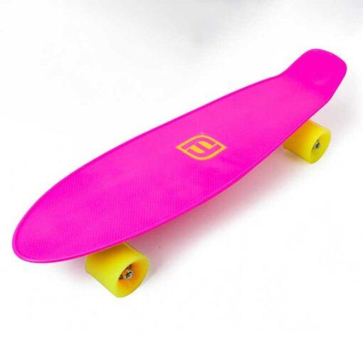 Пениборд за момичета, розов Funbee
